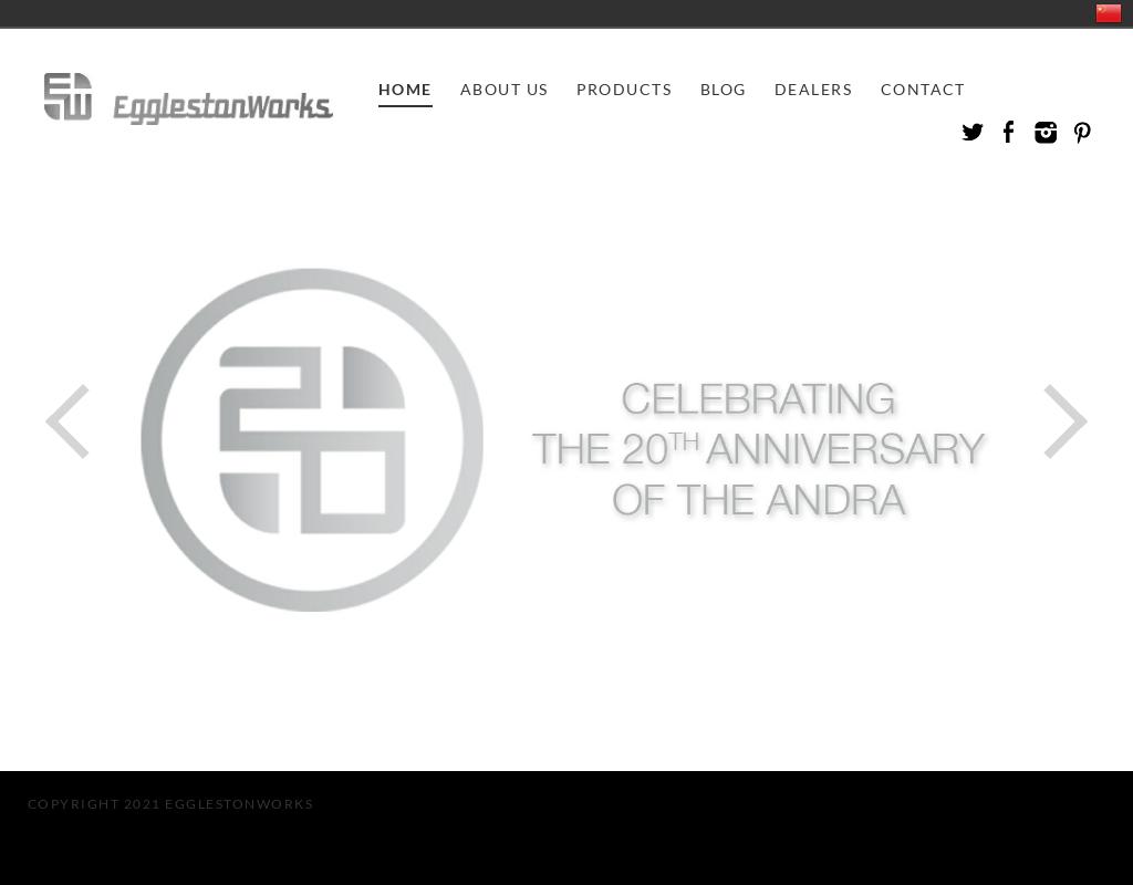 EgglestonWorks homepage